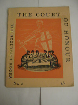 The Boy Scouts Association The Court of Honour- Scouter's Books 2 1958