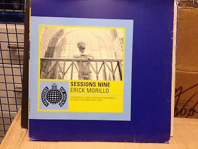 """Erick Morillo - SessioNs 9 - Ministry of Sound - 4x12"""""""