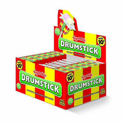 Original Drumstick Lolly (Swizzels Matlow) 60 Count