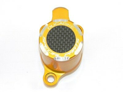 Ducabike Ducati Clutch Slave Cylinder Carbon Inlay - Gold