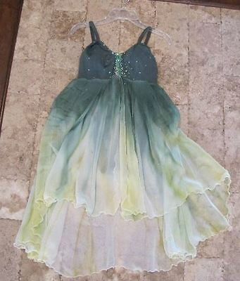 Ballet Lyrical Contemporary Solo Dance Competition Costume Adult Medium