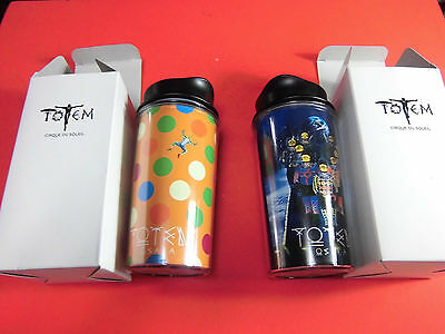 """VERY RARE! CIRQUE DU SOLEIL """"TOTEM"""" 2 Tumbler in Japan special goods for S seat"""