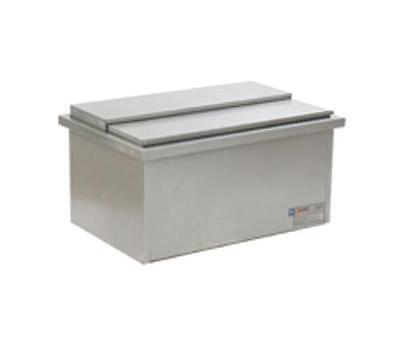 Eagle Group DIC1420 Stainless Steel 18in Spec-Bar Drop-In Ice Bin 72lb Cap.