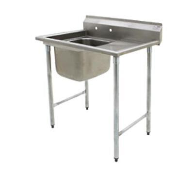 Eagle Group 414 Series Sink 16in x 20in 1 Compartment w/ 18in Drainboard