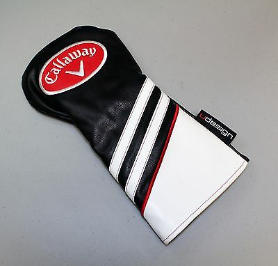 NEW Callaway U Design Limited Edition Leather Driver Headcover Head Cover