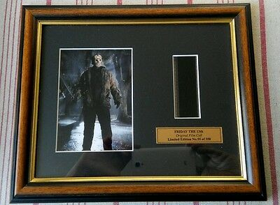 Original Friday the 13th horror Film Cell memorabilia Numbered Limited Edition