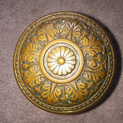Antique Collectible Russell And Erwin . Decorated  Door Knob #3