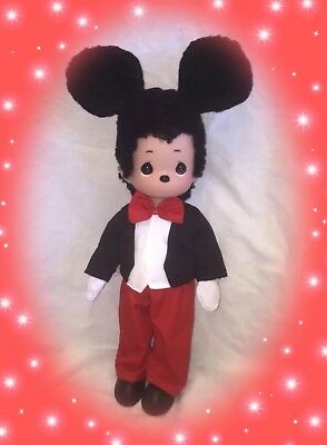 "❤️ Disney Mickey Mouse Doll Fur-Ever - Precious Moments 12"" Vinyl Doll ❤️"