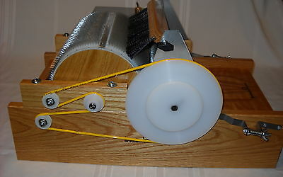 Little brother Motorized Medium/Fine tooth electric wool motorized drum carder