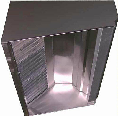 Superior Hoods VSSD48-8 QUICK SHIP 8ft All Stainless Restaurant Grease Hood