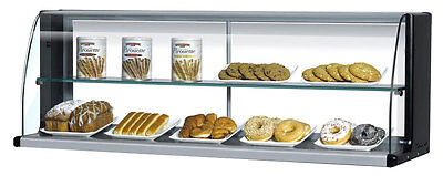 "Turbo Air Slimline 39"" Horizontal High Top Dry Display Case for TOM-40S"