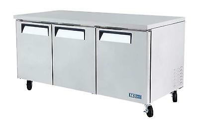 "Turbo Air 72"" Undercounter Stainless 19 Cu.ft Cooler Mur-72"