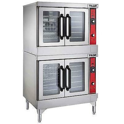 Vulcan VC44ED VC-Series Double Stack Electric Convection Oven - 208/240V