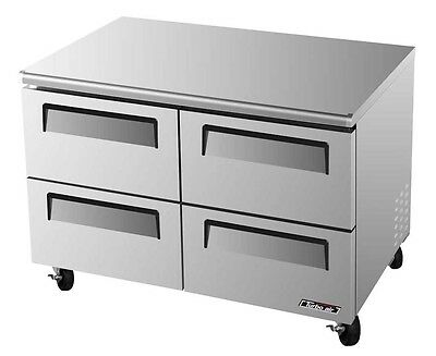 "Turbo Air 48"" Undercounter Cooler Refrigerator 4 Drawer TUR-48SD-D4"