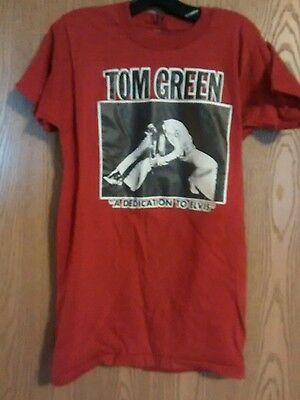 "Women's Tom Green ""A Dedication to Elvis"" T Shirt Large"