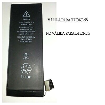 Repuesto de bateria interna / recambio compatible con para Apple iphone 5S 5GS