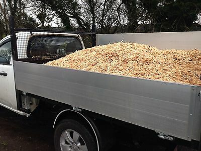 Wood Chippings Chip Shred Loose Load or Bulk Bag. Free Local Delivery LA5