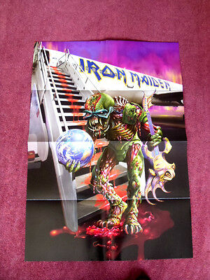 Iron Maiden The Final Frontier World Tour 2010 -11 RARE Poster MINT