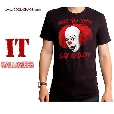 Pennywise T Shirt It Movie Tee Horror Tim Curry Pennywise Tee