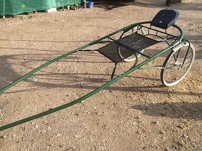 Regal Challanger Sulky Race Bike Cart Conventional Quick Hitch