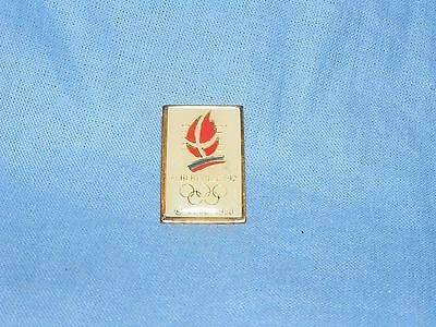 Olympic Games Badge Winter Olympics 1992 Albertville Cojo 1988 Pin Button Enamel