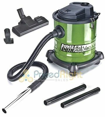 Powersmith Ash Vacuum Vac Fireplace Pellet Stove Grill PAVC101 Electric 3 Gallon