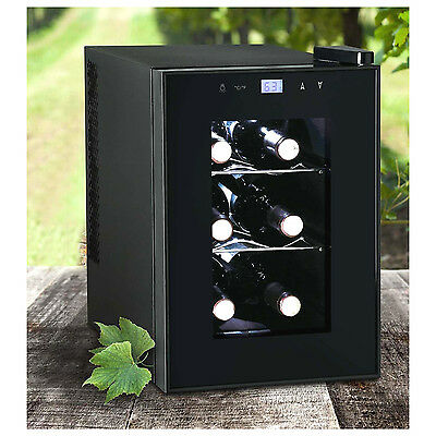 Igloo 6-Bottle Countertop Wine Cooler Refrigerator Bar Fridge Eletronic Cellars