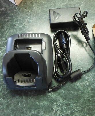 Hand Held  Dock Comm Charger  Model 9500 Hb -1E W/trend Thermo Model 20