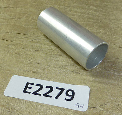 "Aluminum tube spacer standoff 2.75"" long, 1.125"" OD, 1"" ID Qty. 10 - 6063-T8"