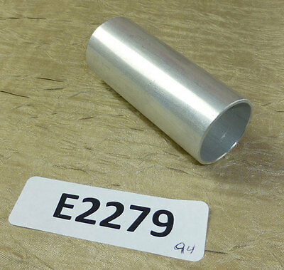 """Lot of 20 pc Aluminum tube spacer standoff 2.75"""" long, 1.125"""" OD, 1"""" ID 6063-T8"""
