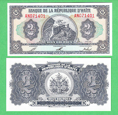 Haiti 1 Gourde Note P-260a UNCIRCULATED