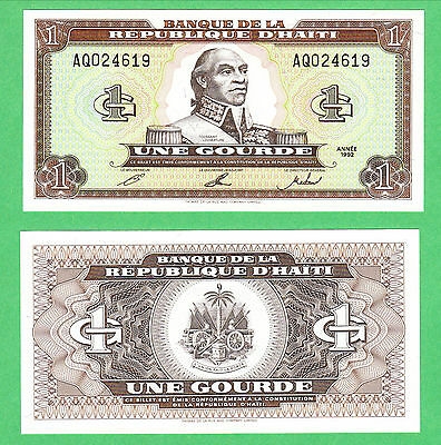 Haiti 1 Gourde Note P-259a UNCIRCULATED