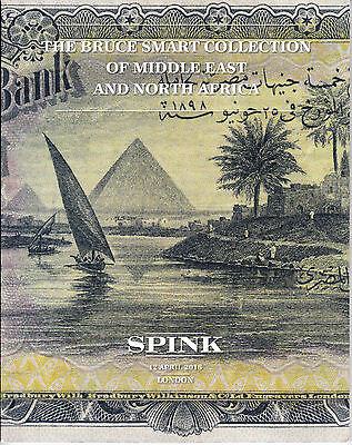 Middle East and North Africa Banknotes Auction Catalog w/Prices Realized