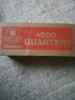2,000 Us Quarter Coin Lot * Sealed Box (Unsearched For 90% Silver Or Errors)!
