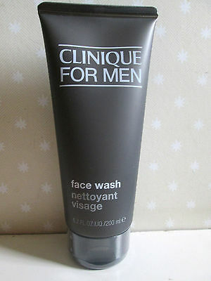Clinique for Men Face Wash 200ml ,  New & Sealed