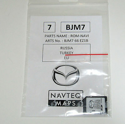 Mazda Navteq Navigation - MZD Connect Navi SD-Karte // Deutsch // NEU