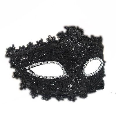 Fancy Black Sexy-Lace Eye Masquerade Mask Halloween Party Costume Cosplay