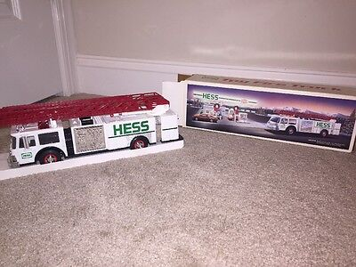 Hess Toy Fire Truck New In Original Box.
