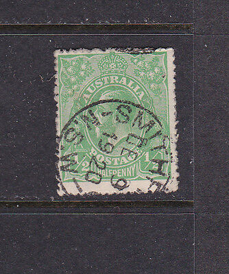 Austrailia Variety #19A Small 1/2  Right  Pin Holes Used Cat $5,750.00