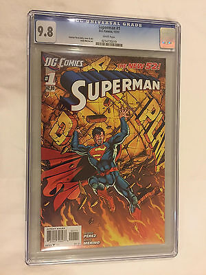 SUPERMAN #1 New 52 CGC 9.8....GREAT DEAL!!!