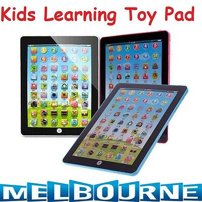 Kids Tablet Computer Toy Pad Educational Learn Touch Baby Gift Learning Children