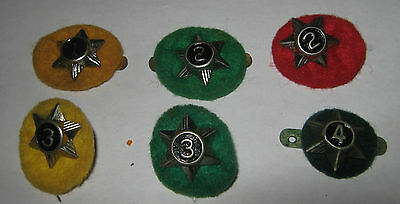 Scouts Canada Service Year Pin with Felt Backs - LOT