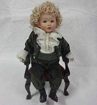 Porcelain Doll Limited Edition Collectible - Pear Boy