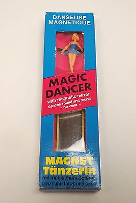 Magic Dancer Ballerina Vintage West Germany Magnet Toy With Original Box