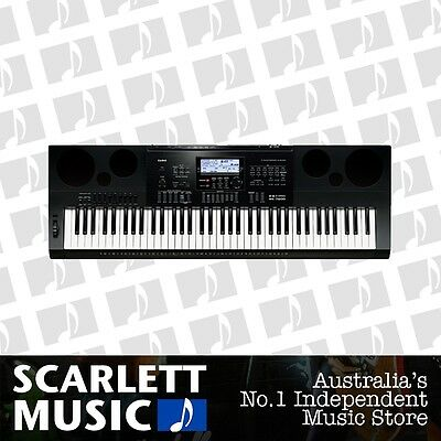 Casio WK-7600 High Grade, 76 Key, Entry Level Workstation Keyboard *BRAND NEW*