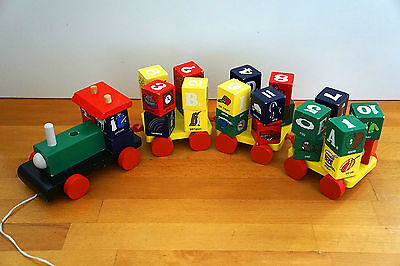 Timber Alphabet / Numbers Train - Kids Learning