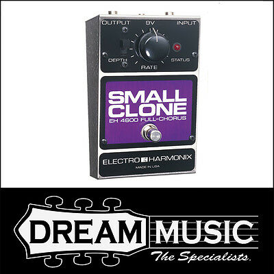 Brand New Electro Harmonix EHX - Small Clone Analog Chorus Guitar Effects Pedal