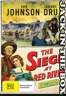 The Siege At Red River  DVD NEW, FREE POSTAGE WITHIN AUSTRALIA REGION ALL