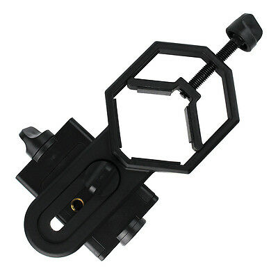 Universal Cell Phone Adapter Mount Connect with 25-48mm Spotting Scope Telescope