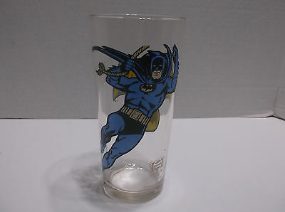 Vintage Batman Drinking Glass From 1966 By Pepsi